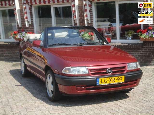 Opel Astra Cabriolet 1.4Si  LMV, St.bekr, CV - RIJKLAAR -