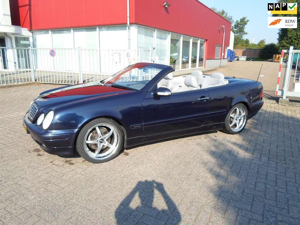 Mercedes-Benz CLK-klasse Cabrio occasion - Fkautos