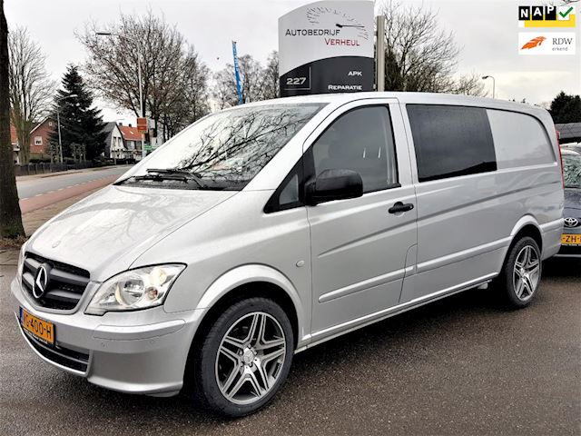 Mercedes-Benz Vito 122 CDI 320 Lang DC Luxe Dub Cabine Automaat V6 Navi Airco Cruise Trekhaak