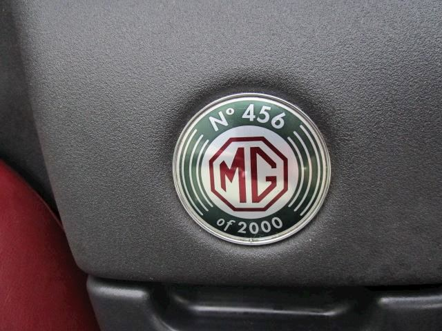 MG F 1.8i 75th Anniversary