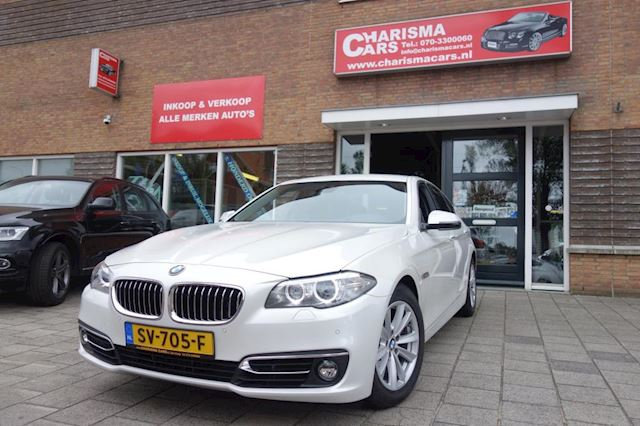 BMW 5-serie 530d High Executive | NAVI/SOFT-CLOSE/AUTOMAAT