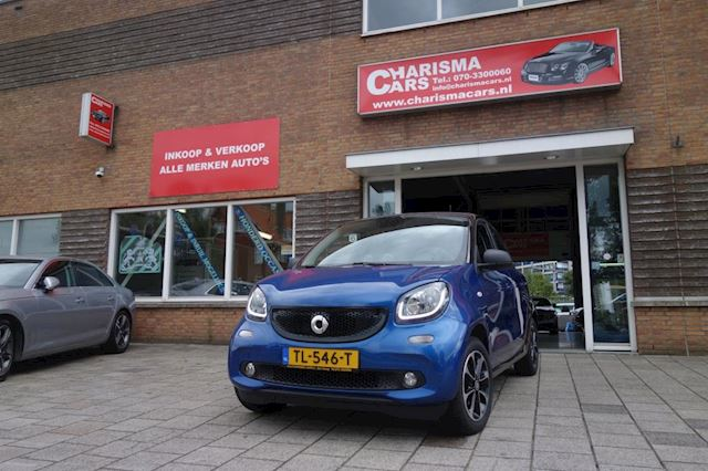 Smart Forfour 1.0 Proxy Bj 2017 Airco