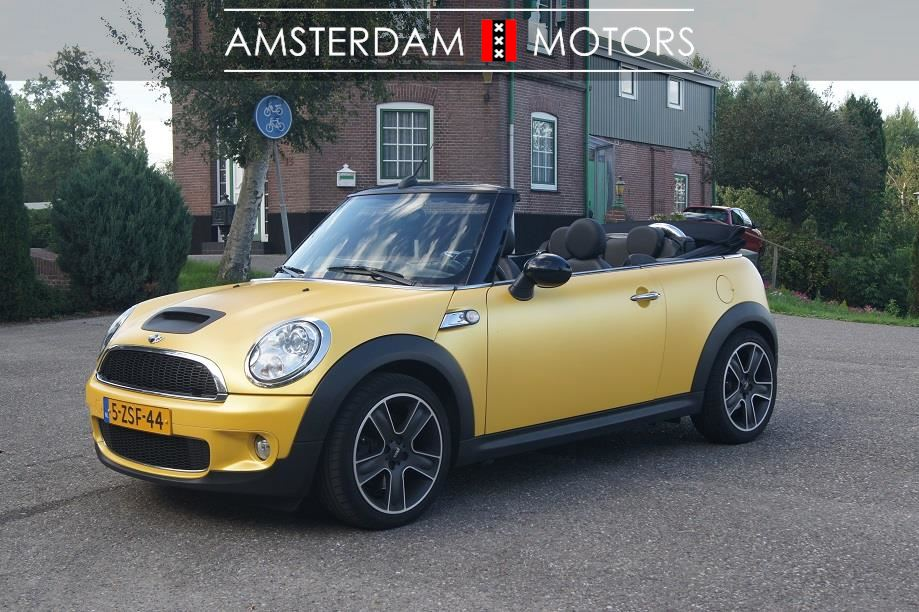 Mini Cooper S Cabriolet occasion - Amsterdam Motors