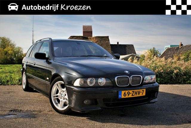 BMW 5-serie Touring 530d M Sport High Executive * M-Pakket * Youngtimer * XENON * Boeken Aanwezig * BOM VOL *