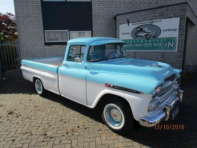 Chevrolet FLEETSIDE PICKUP pickup fleetside V8 volledig gerestaureerd