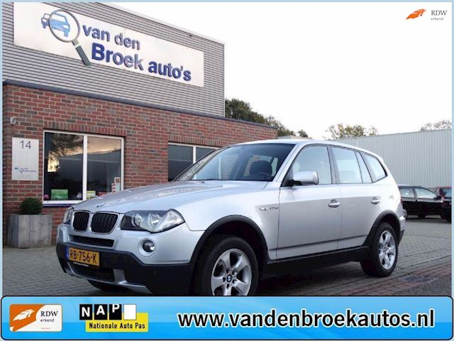 BMW X3 2.0d executive 177PK Trekhaak