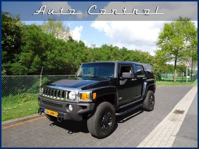 Hummer H3 3.5  4x4 Black Beauty