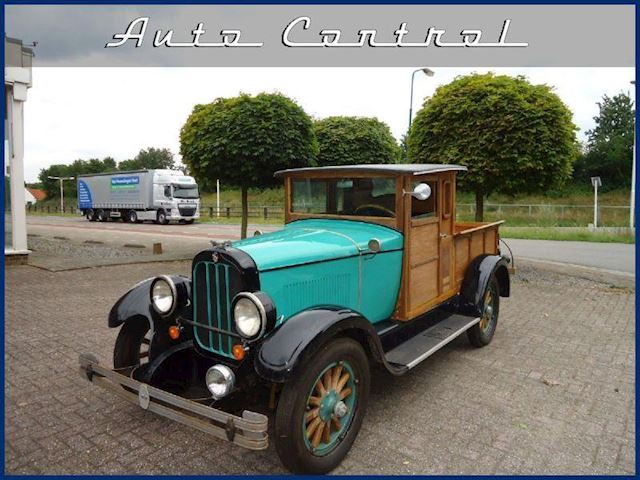 Oldtimers Chandler Six 1928 Wooden Pick-up