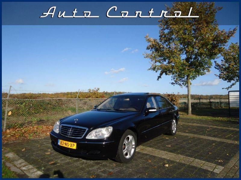 Mercedes-Benz S-klasse occasion - Auto Control
