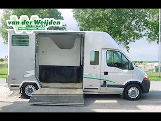 Renault Master 2.5d 2-Paards Barbot Paardenauto Dub.Cab.