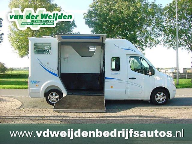 Renault Master 23d Barbot Paardenauto Dubcab 2014