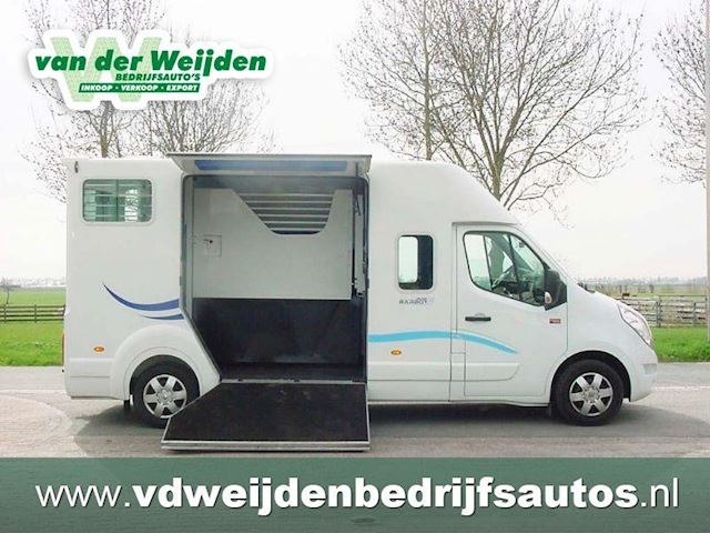Renault Master Barbot` Paardenauto Hengstenuitvoering Dub.Cab.