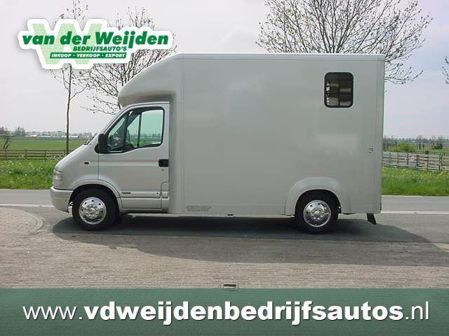 Opel Movano occasion - Van der Weijden Bedrijfsauto's