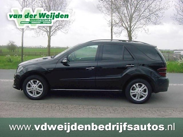 Mercedes-Benz M-klasse ML 320 CDI 4MATIC 211 PK! LEDER/CRUISE/NAVI/AIRCO