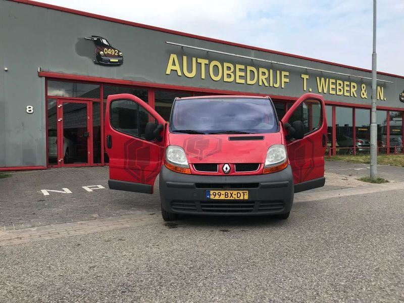 Renault Trafic occasion - Autobedrijf Tommie Weber & zn.
