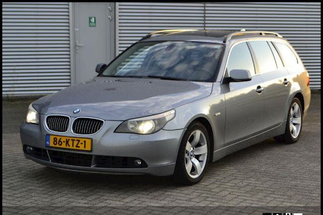 BMW 5-serie Touring 535d High Executive, Xenon, Pano, Clima, Navi, CruiseControl, PTS, ....... Export Prijs Ex bpm