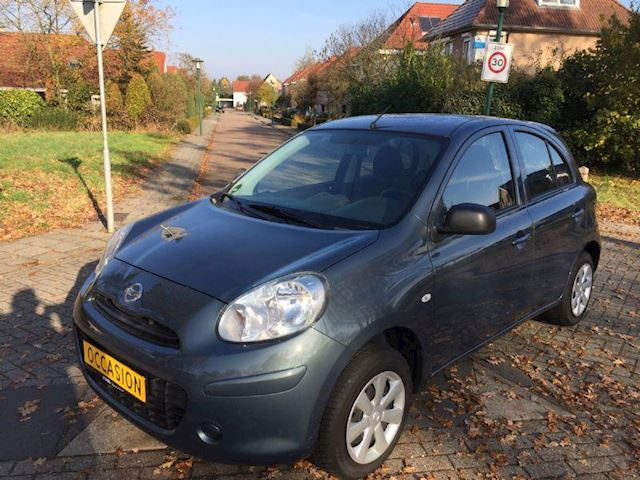 Nissan Micra 1.2 I CONNECT EDITION BJ 2012 NW MODEL AIRCO