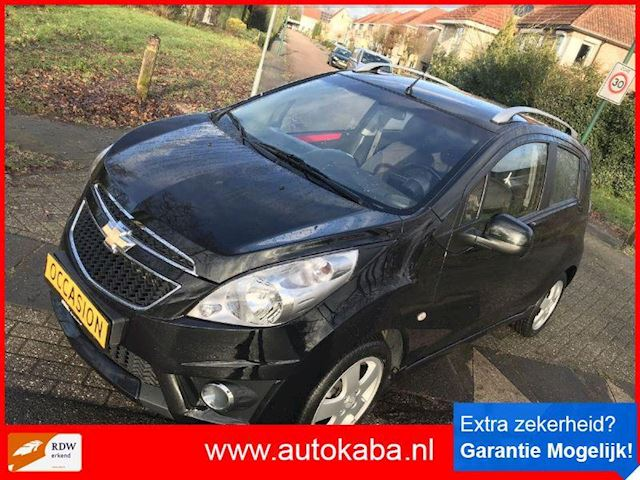 Chevrolet Spark 1.2/16v Ltz Uitv  Black One Bj 2012 Top