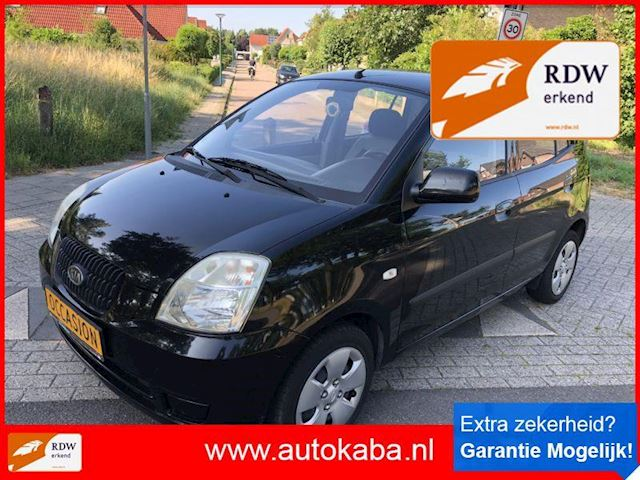 Kia Picanto 1.0 lxe Airco Bj 2005 Helemaal in Zwart