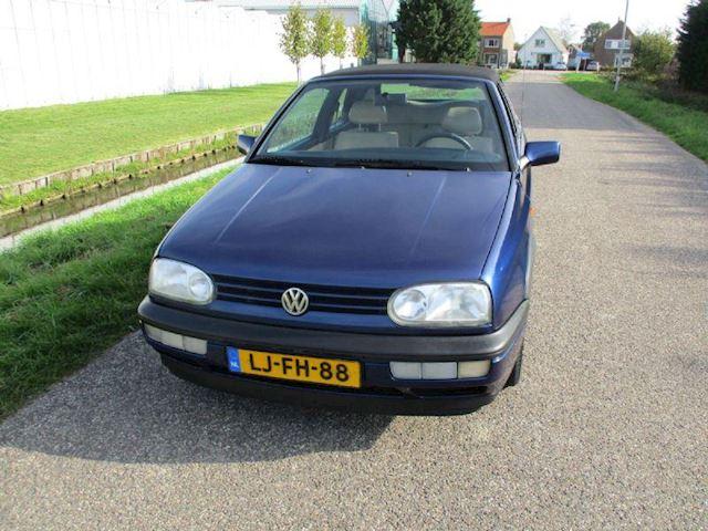 Volkswagen Golf Cabriolet 1.8 Avantgarde