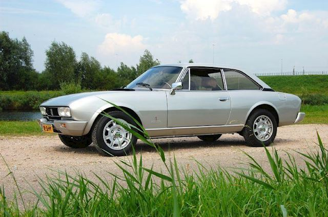 Peugeot 504 Coupe 2.0 TI automaat