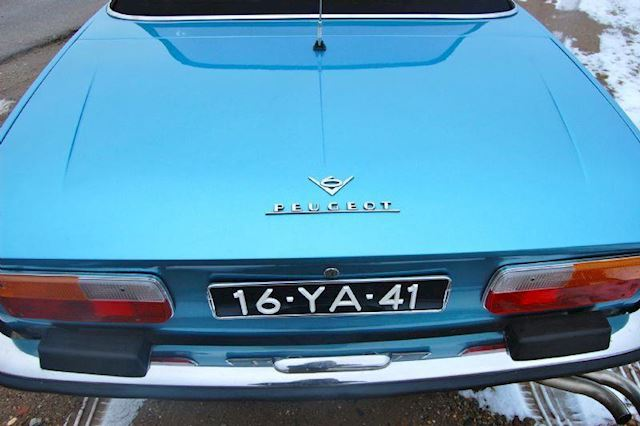 Peugeot 504 2.7 V6 Coupé Inj.