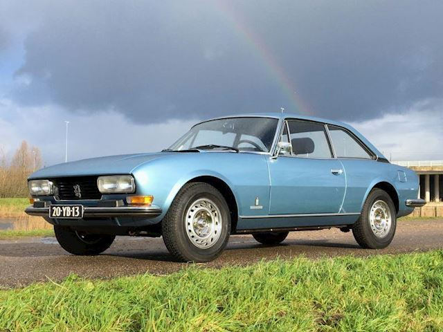 Peugeot 504 Coupe V6 2.7 automaat
