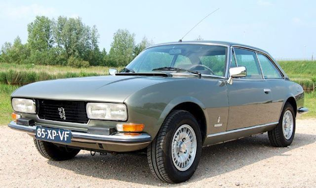 Peugeot 504 2.0 TI Coupe automaat