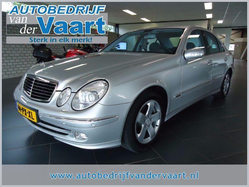 Mercedes-Benz E-klasse occasion - Autobedrijf van der Vaart