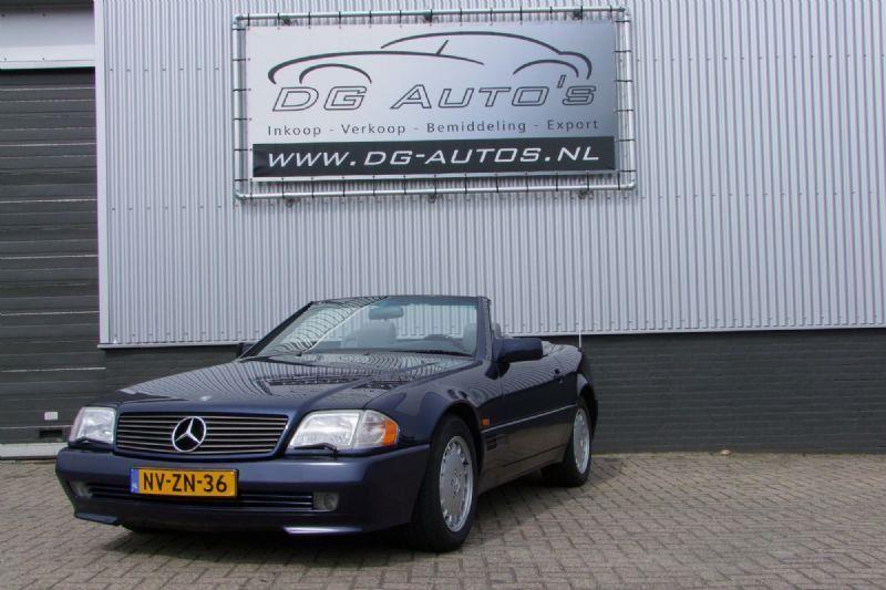 Mercedes Benz Sl Klasse Sl 500 Benzine Uit 1994 Www Dg Autos Nl