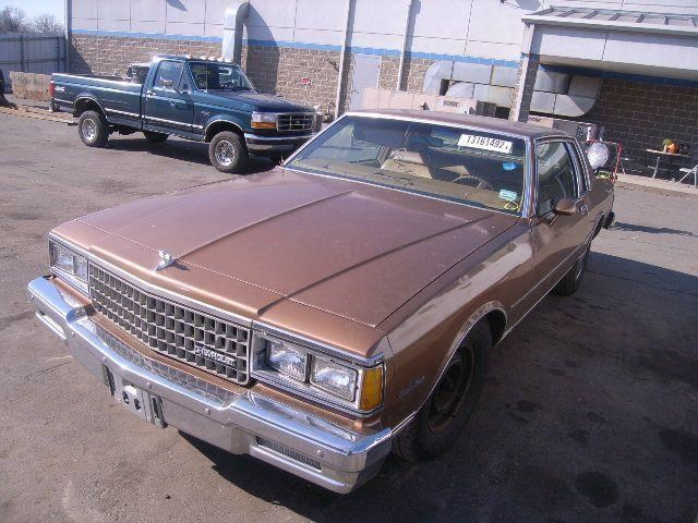 Chevrolet Caprice COUPE 1980
