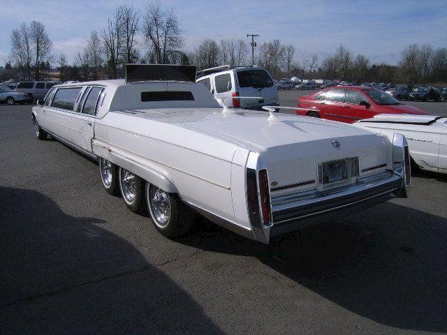 Cadillac Fleetwood SUPER limousine te Koop en wegenbelasting vrij
