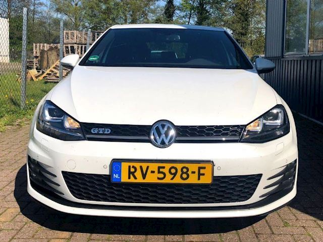 Volkswagen Golf 2.0 GTD Edition 40 Parelmoer Wit/Keyless Go