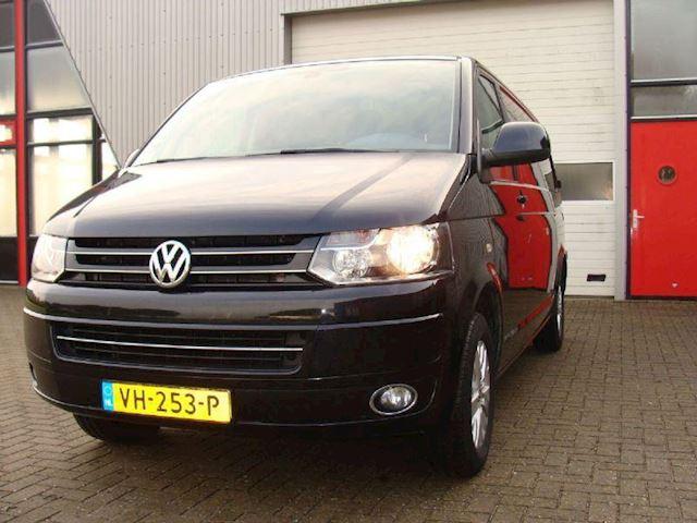 Volkswagen Transporter VW T5 GP 140PK L2H1 ZWART 2014 AIRCO NAVI LUXE PAKKET
