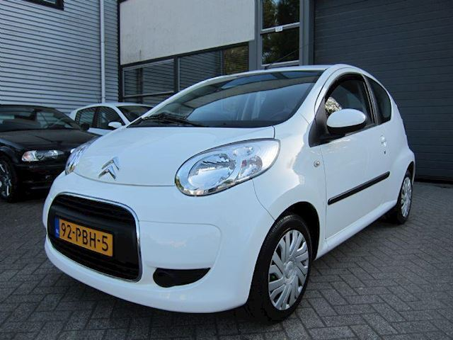 Citroen C1 1.0-12V Selection AIRCO CD LEDER ORG NL NW APK