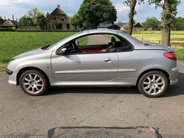 Peugeot 206 cc 2.0-16V cabriolet Leer nieuwe APK