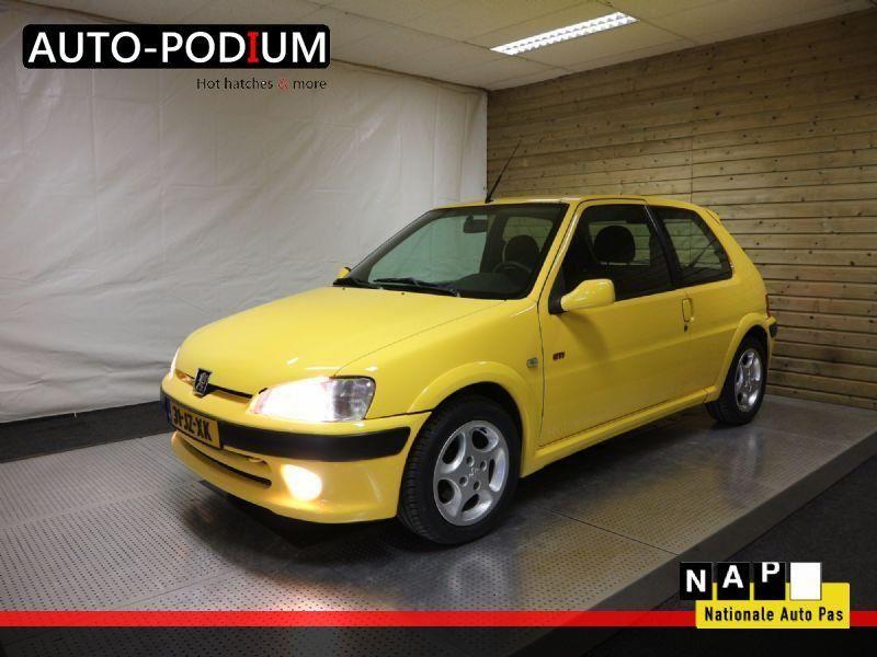 Peugeot 106 GTi 1.6 16v occasion - Auto-Podium