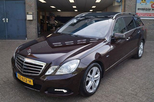 Mercedes-Benz E-klasse 350cdi avantgarde 4-matic aut 7 persoon bom volllll