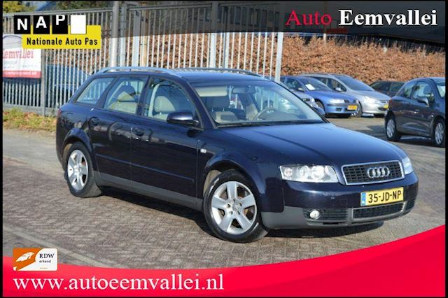 Audi A4 Avant 2.4 Exclusive MT bj02 aut, leer, Cruise voll