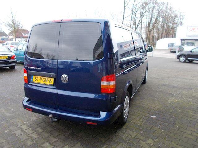 Volkswagen Transporter 2.5 TDI AUTM DC LEER + AIRCO + TREKH.