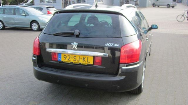 Peugeot 407 SW 2.2-16V XS  AUTOMAAT / TREKHAAK