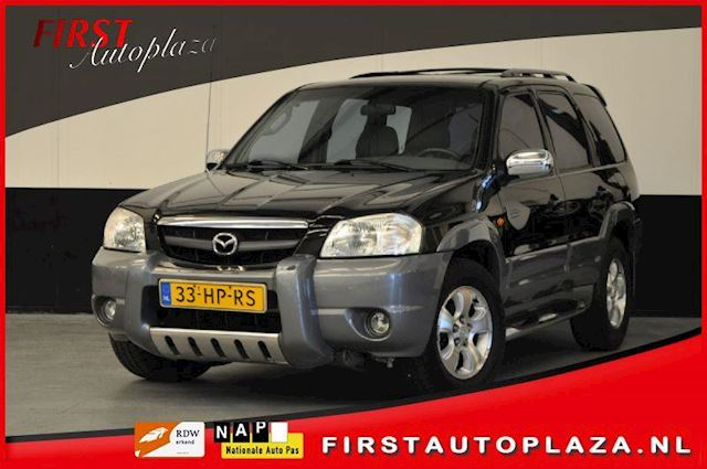 Mazda Tribute 3.0 V6 Touring 4WD LPG-G3 AUTOMAAT AIRCO/DVD/CRUISE/LEDER NETTE AUTO !