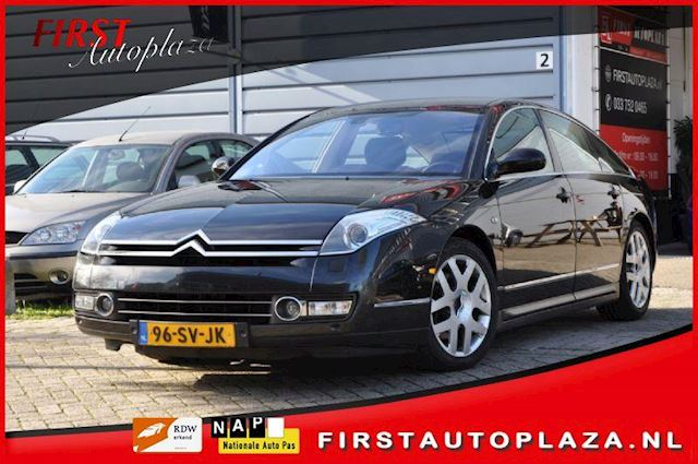 Citroen C6 2.7 HdiF V6 Exclusive AUTOMAAT HEAD-UP/LEDER/AIRCO/NAVI NETTE AUTO !