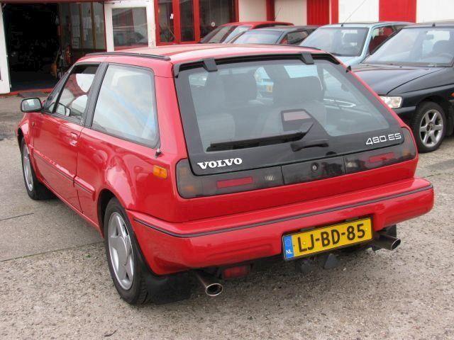 Volvo 480 2.0 ES NIEUWSTAAT met leder VERKOCHT