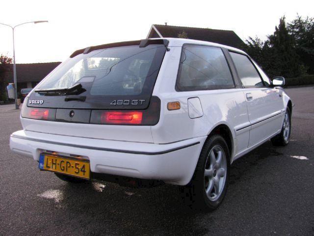Volvo 480 1.7 turbo intercooler VERKOCHT