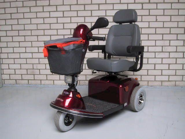 Scootmobiel Freerider Knightsbridge Nieuw weg is pech occasion - Autobedrijf van der Heijden