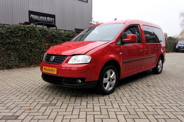 Volkswagen Caddy 1.6 Maxi life  7 persoon CNG  aardgas