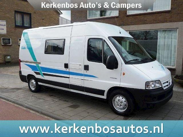 Camper 2.2HDi Globevan Voorbeeld nieuwe inbouw