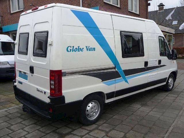 Camper Globevan NIEUWE INBOUW