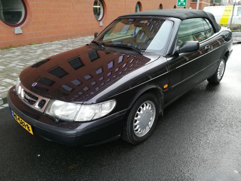 Saab 900 SE cabriolet, KM-stand 64277, incl. 21 BTW occasion - Youngtimer